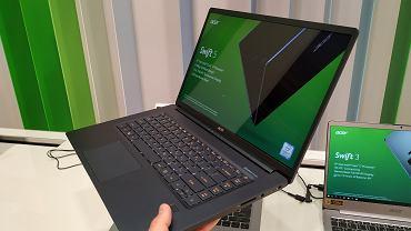 Acer Swift 5 - najlżejszy laptop z ekranem 15,6 cala
