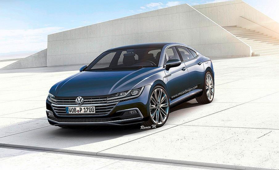 Wizualizacja nowego Volkswagena CC
