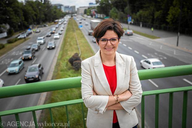 Justyna Glusman, kandydatka koalicji ruchów miejskich na prezydenta Warszawy