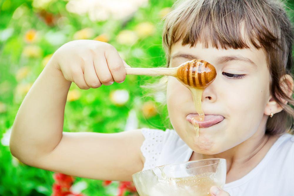 Miód jest nie tylko smaczny, ale i zdrowy. Wykazuje właściwości przeciwbólowe, przeciwzapalne, odnawiające, przeciwbakteryjnie, wykrztuśnie, uodparniające oraz przeciwalergicznie.