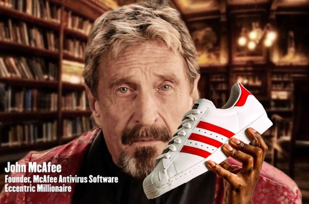 John McAfee obiecał, że zje but, jeśli nie dostanie się do danych zapisanych w iPhonie