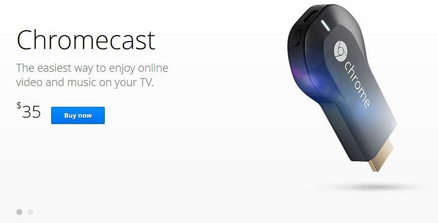 Chromecast już do kupienia w USA za jedyne 35 dolarów