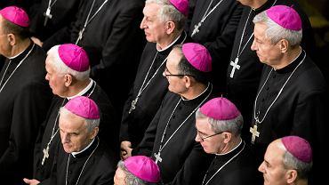 Polscy biskupi podczas zebrania plenarnego Konferencji Episkopatu
