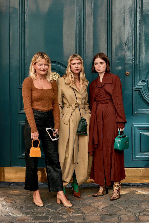 Brąz to jeden z ulubionych kolorów redaktorek mody i uczestniczek paryskiego tygodnia mody