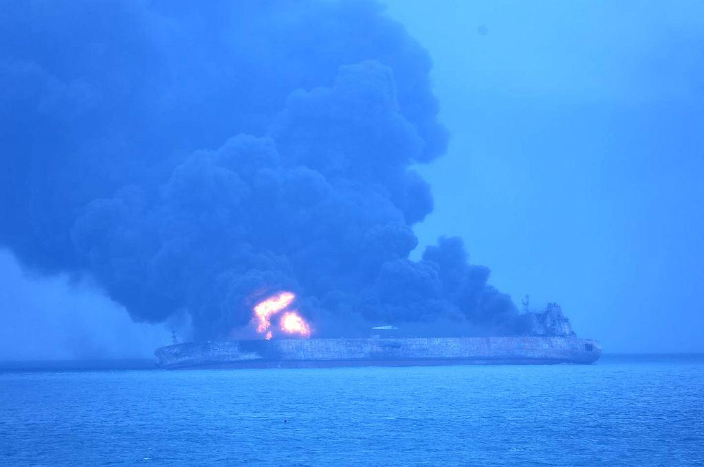 Pożar tankowca Sanchi