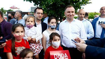 Andrzej Duda w Tomaszowie Mazowieckim