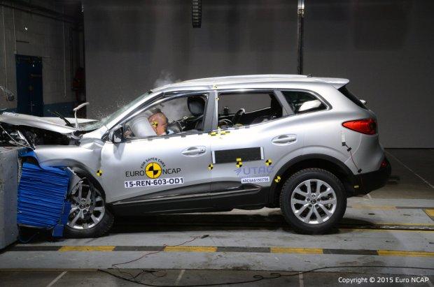 Renault Kadjar - test zderzeniowy
