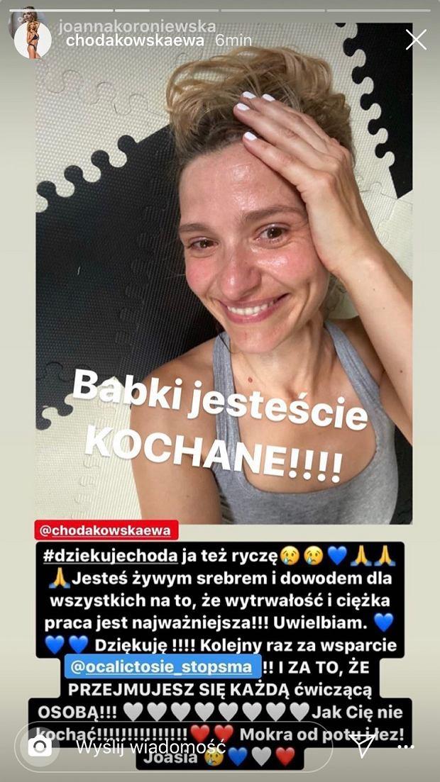 Joanna Koroniewska - treningi z Chodakowską