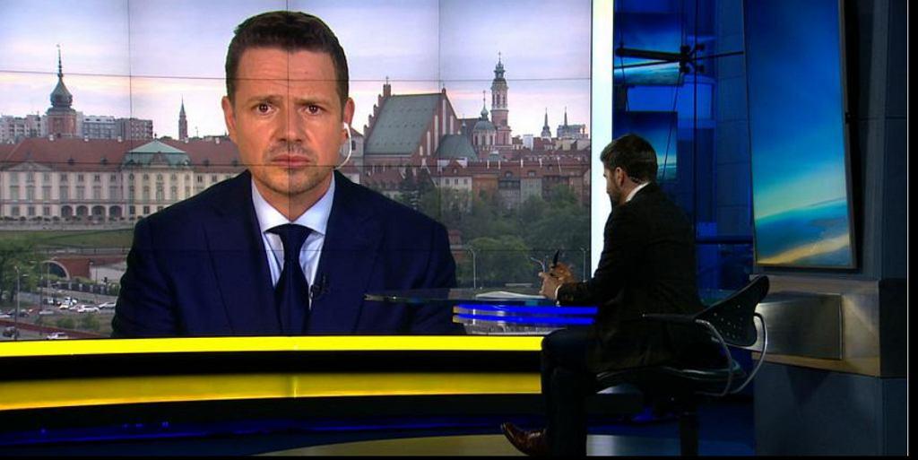Rafał Trzaskowski w 'Faktach po Faktach' TVN24