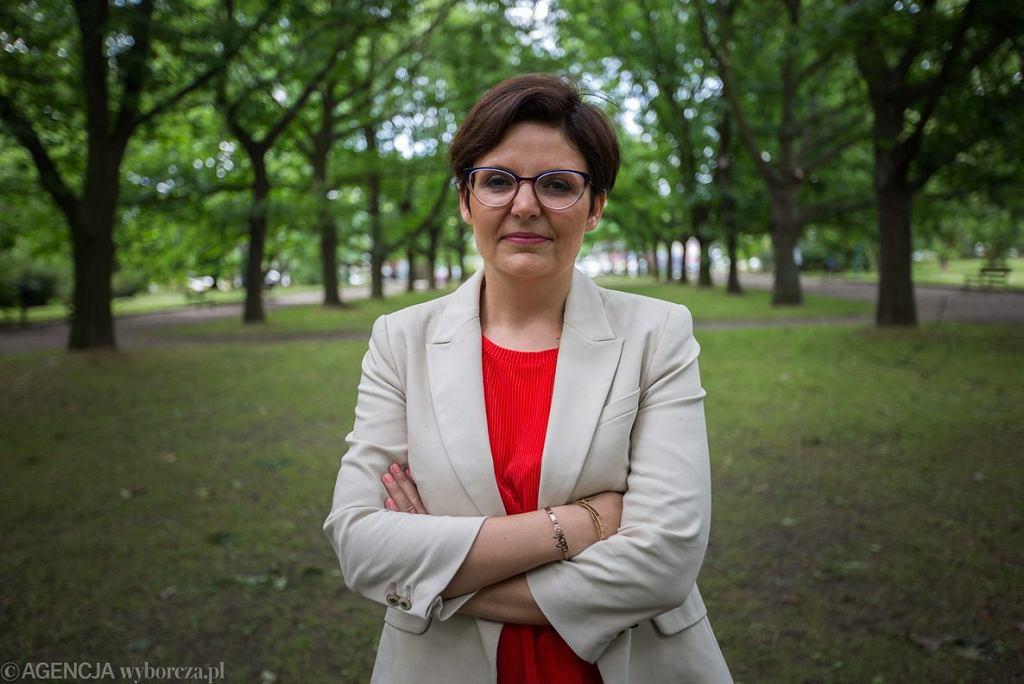 Justyna Glusman kandydatka Ruchów Miejskich na prezydenta Stolicy.