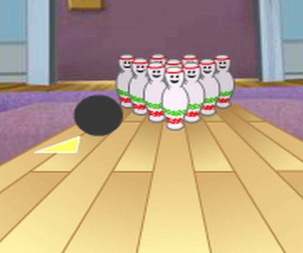 Tom i Jerry grają w kręgle