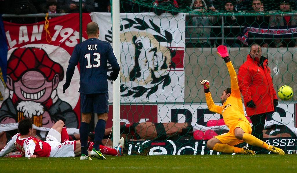 Tak Grzegorz Krychowiak strzelił gola PSG. Jego Reims niespodziewanie pokonało lidera Ligue 1 1:0
