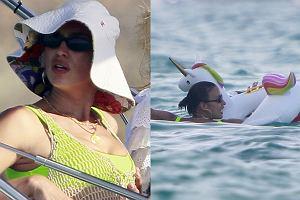 Irina Shayk na wakacjach w Hiszpanii