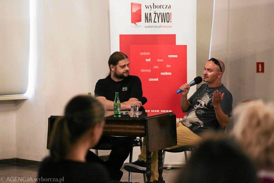 Spotkanie z Mirosławem Wlekłym w Ratuszu Staromiejskim w Toruniu