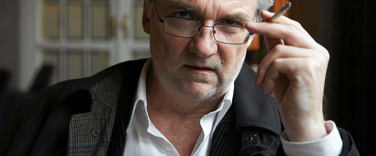 Jerzy Pilch (fot. Michał Mutor / Agencja Gazeta)