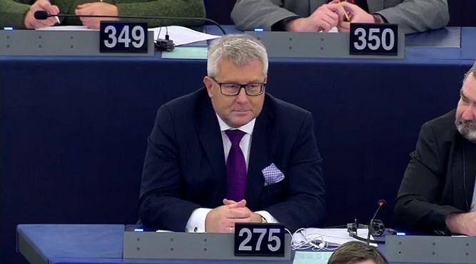 Ryszard Czarnecki tuż po odwołaniu