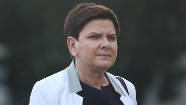 Beata Szydło. 70 . rocznica urodzin Lecha Kaczyńskiego w Krakowie