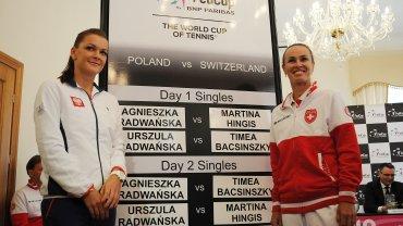 Agnieszka Radwańska i Martina Hingis
