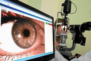 OCT - optyczna koherentna tomografia dna oka