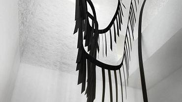Wizualizacja rzeźby Moniki Sosnowskiej, która powstanie w tzw. wieży lodowej dawnego browaru wchodzącego w skład kompleksu budynków muzeum w Suchs