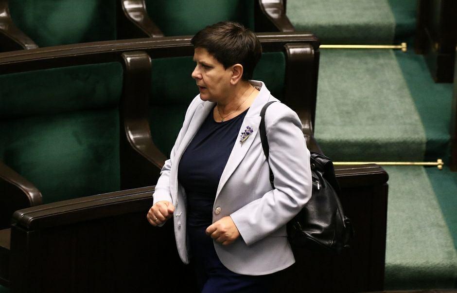 Beata Szydło mówi, że jest gotowa kandydować do europarlamentu