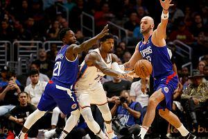 Los Angeles Clippers rozbiło Washington Wizards. Przyzwoity mecz Gortata