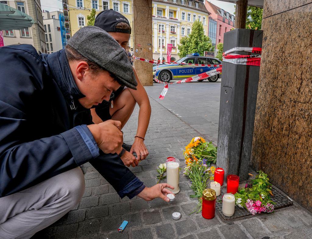 Atak nożownika w Wurzburgu, w Niemczech