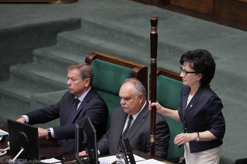 Marszałek Sejmu Elżbieta Witek. 86 Posiedzenie Sejmu VIII Kadencji, Warszawa, 11 września 2019