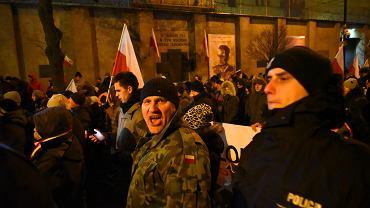 QDemonstracja ONR z okazji Narodowego Dnia Pamieci Zolnierzy Wykletych w Warszawie