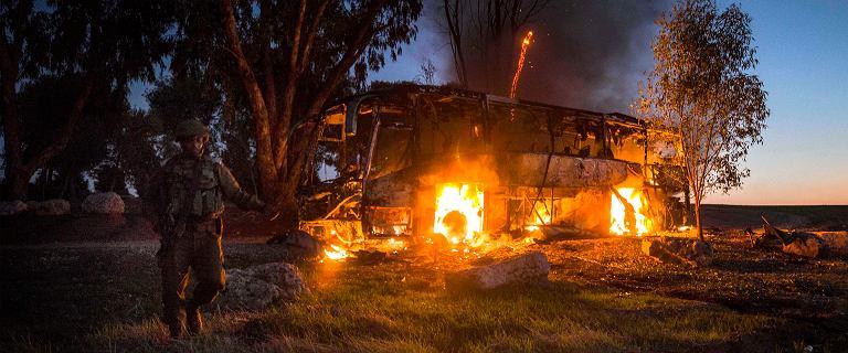 Wymiana ognia między Gazą a Izraelem. Wystrzelono setki rakiet