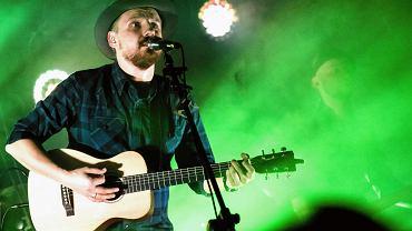 Paweł Domagała podczas koncertu w Radomiu, luty 2018
