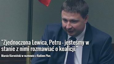 Szef sztabu wyborczego PO Marcin Kierwiński