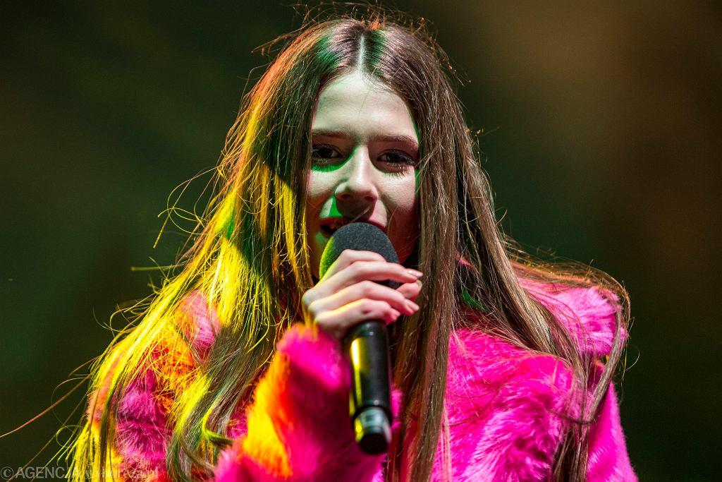 Roksana Węgiel - zwyciężczyni pierwszej edycji ' The Voice Kids ' oraz zeszłorocznej Eurowizji Junior