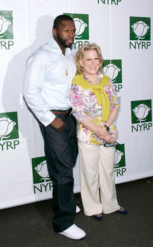 50 Cent i Bette Midler