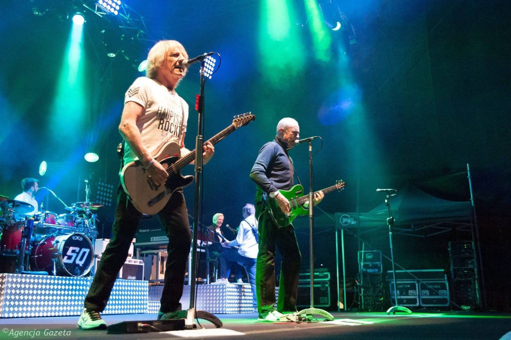 Koncert Gwiazd Gitarowego Rekordu Guinnessa: zespół Status Quo