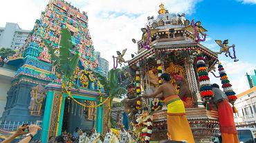 Singapur - hinduskie święto Tajpusam