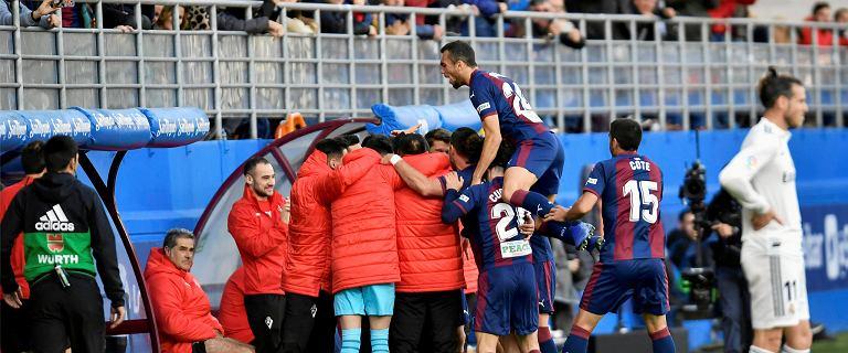 La Liga. Real Madryt rozbity przez Eibar!