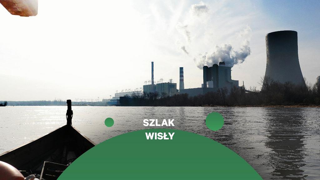 Elektrownia Kozienice czerpie wodę z Wisły