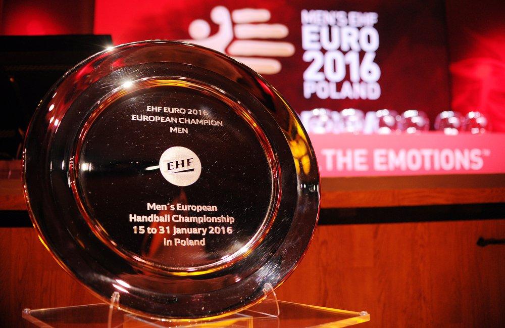 Srebrna patera, którą w przyszłym roku wzniosą mistrzowie Europy w piłce ręcznej