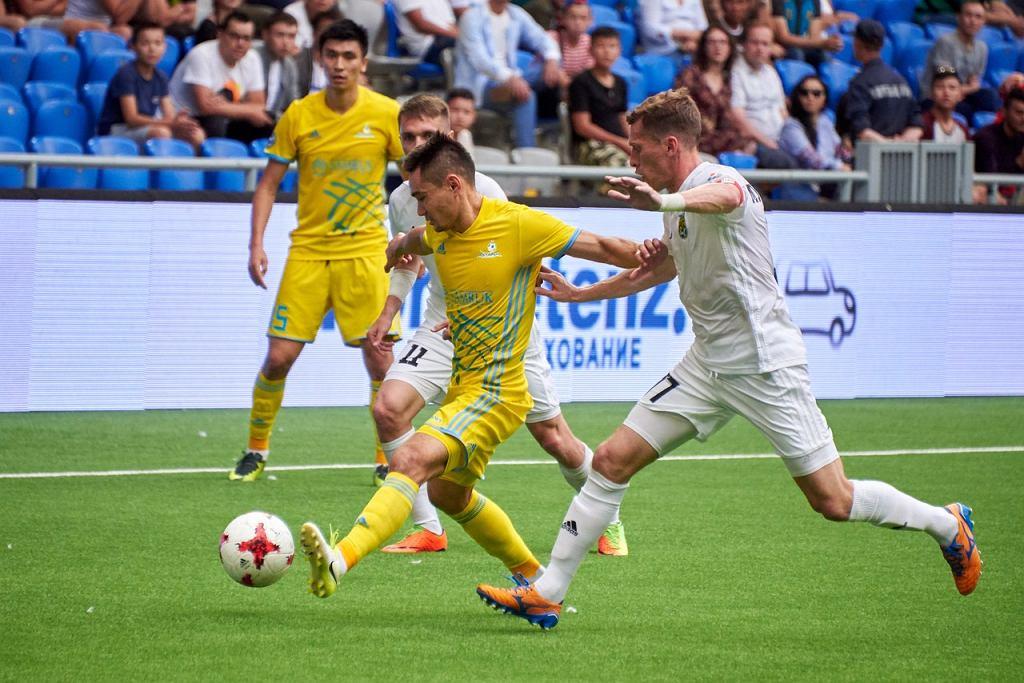 FK Astana w spotkaniu ze Spartaksem