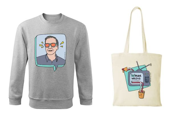 W sklepie Roberta Biedronia bluza kosztuje 110 złotych, a torba 25 złotych