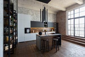 Salon z aneksem kuchennym. Jaki zestaw mebli kuchennych wybrać?