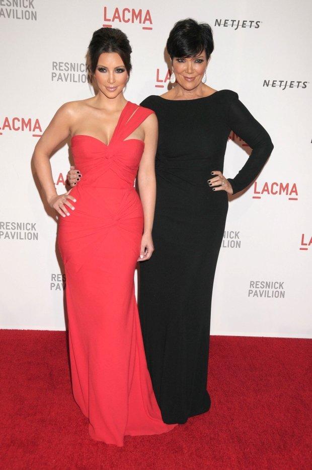 Kim Kardashsian, Kris Jenner