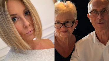 Małgorzata Rozenek / rodzice Małgorzaty Rozenek