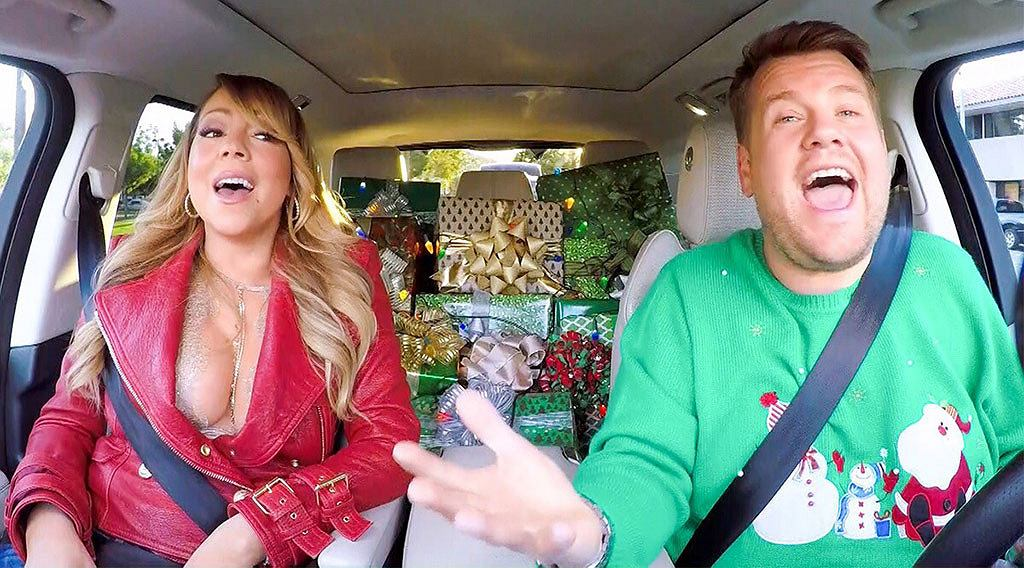 James Corden z pomocą Mariah Carey, ale nie tylko, przygotował specjalny świąteczny odcinek swego popularnego programu 'Carpool Karaoke'.