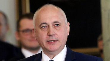 minister spraw wewnetrznych i administracji w rządzie PiS Joachim Brudzinski