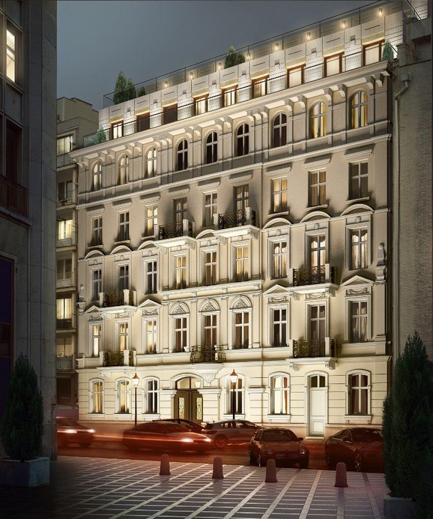 W tej odrestaurowanej kamienicy przy ul. Mokotowskiej w Warszawie spółka IPECO dobudowała dwa piętra, na których usytuowała cztery penthouse'y o powierzchni od 115 do 180 m kw. z kilkudziesięciometrowymi tarasami. Samo przygotowanie inwestycji od strony prawnej i projektowej (konieczna była konsultacja z konserwatorem zabytków) trwało cztery lata.