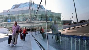 Lotnisko Chopina w Warszawie, sierpień 2021 r.