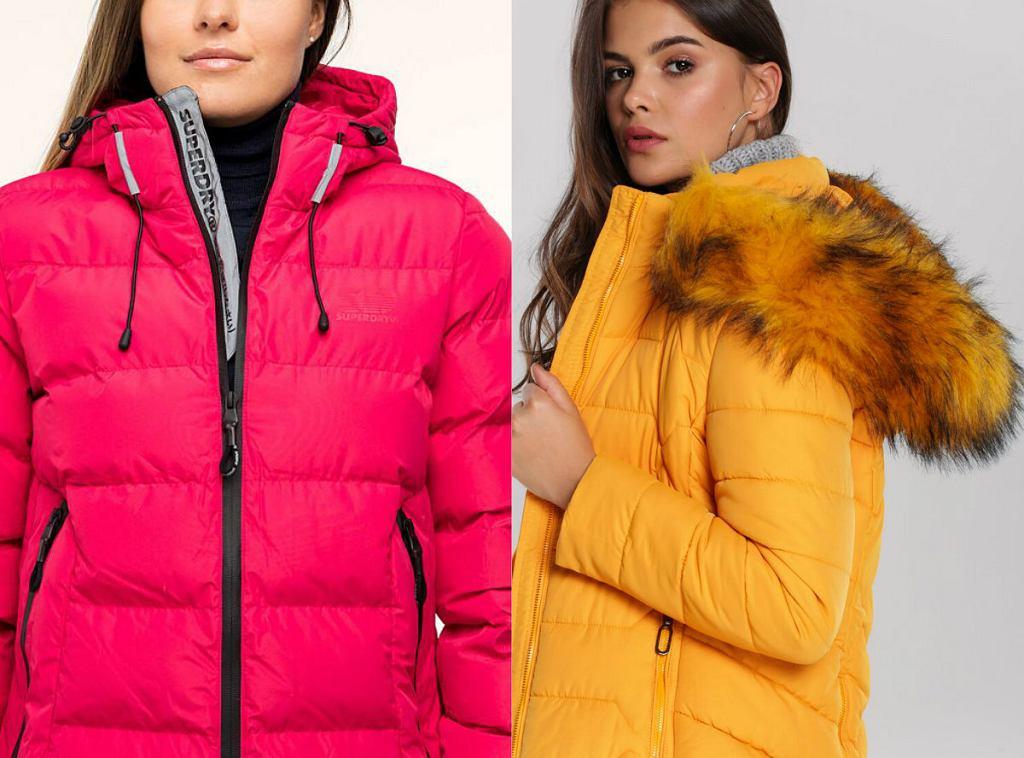 Zimowe kurtki damskie z kapturem