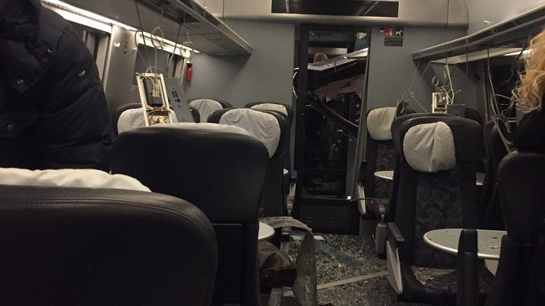 Wypadek pociągu w Danii